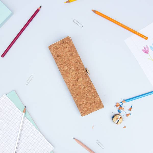 cork pencil case