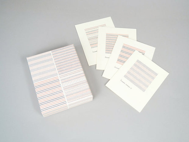olivetti pattern series notecards - set of 12