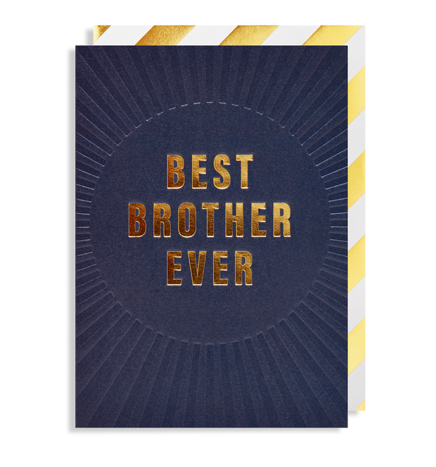 best brother ever card