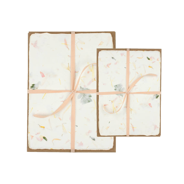 Floral Handmade Paper Pack - various sizes