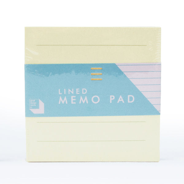 lined & grid memo pads