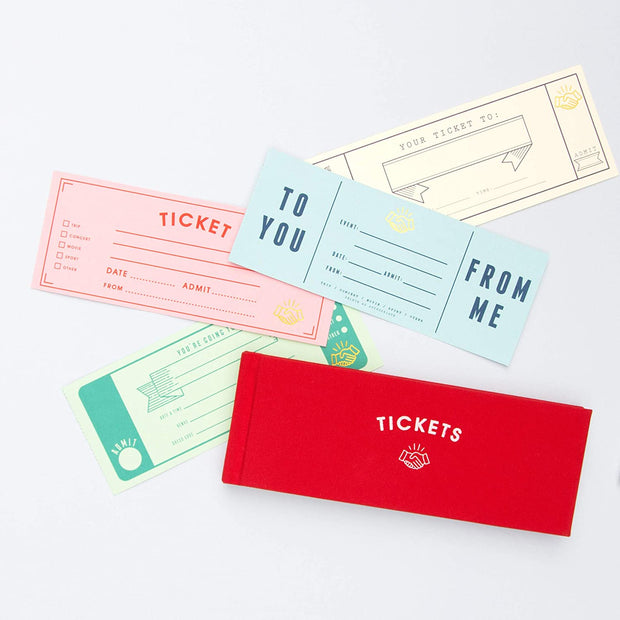 gift tickets book