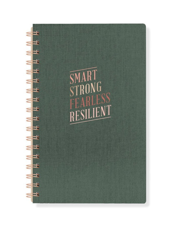 smart & strong bookcloth spiral journal