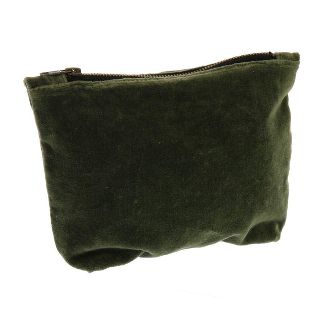 velvet zipper pouches