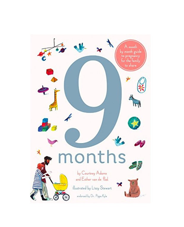 9 months: a month by month book for kids