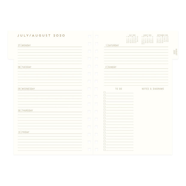 little book of big plans - 17 month hardcover 2020-21 planner