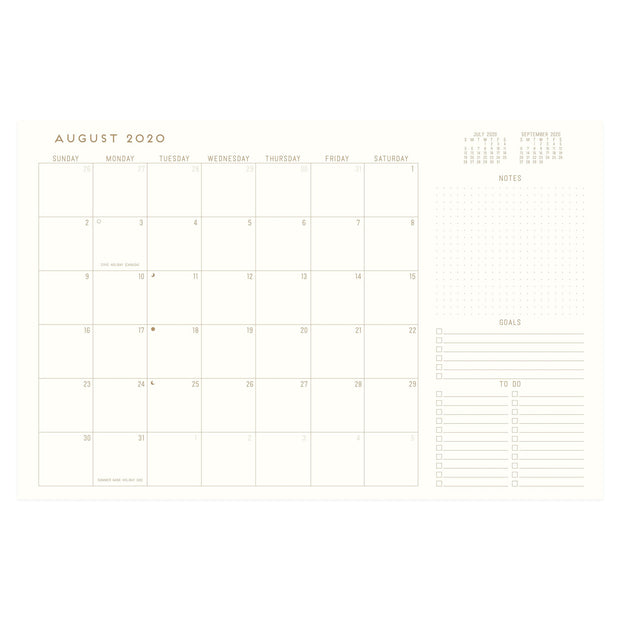 bookcloth flex 2020-21 monthly planners