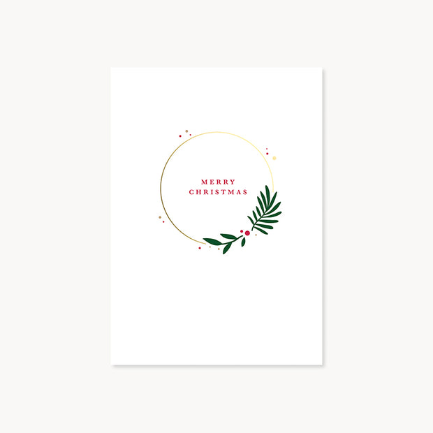 christmas stag pop-up card