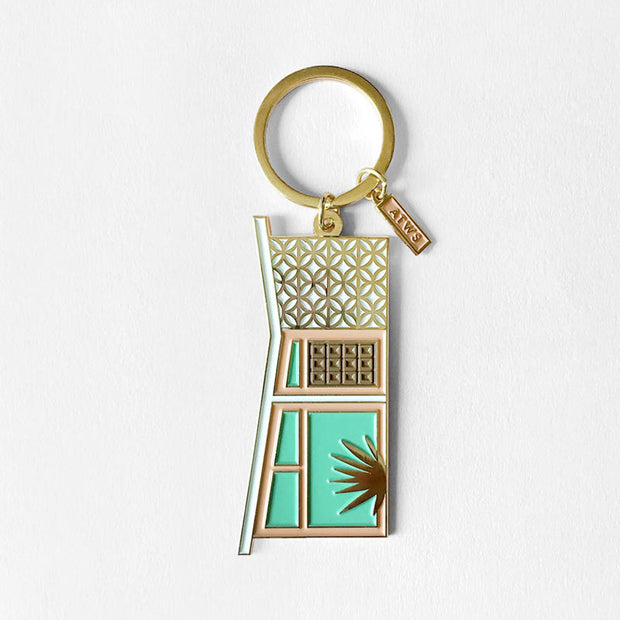 All the Ways to Say enamel + gold keychains