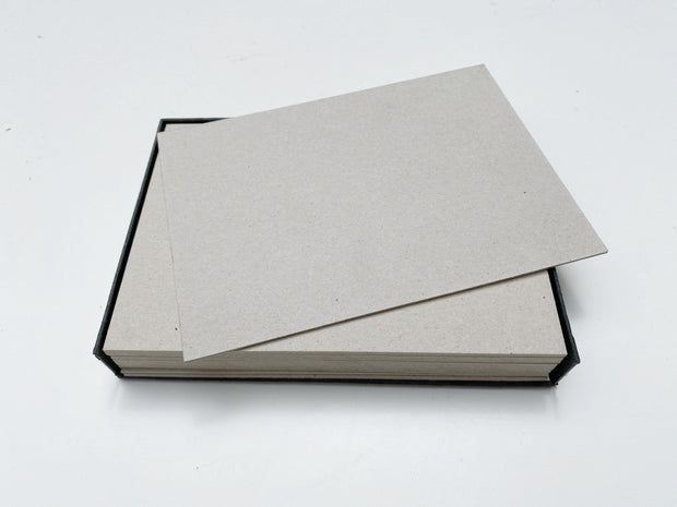 thick note cards: grey set of 16