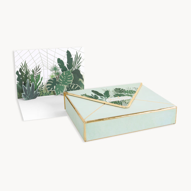 greenhouses pop-up cards - set of 8