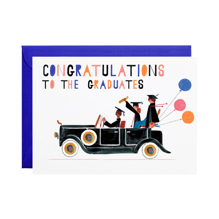 packard graduation card