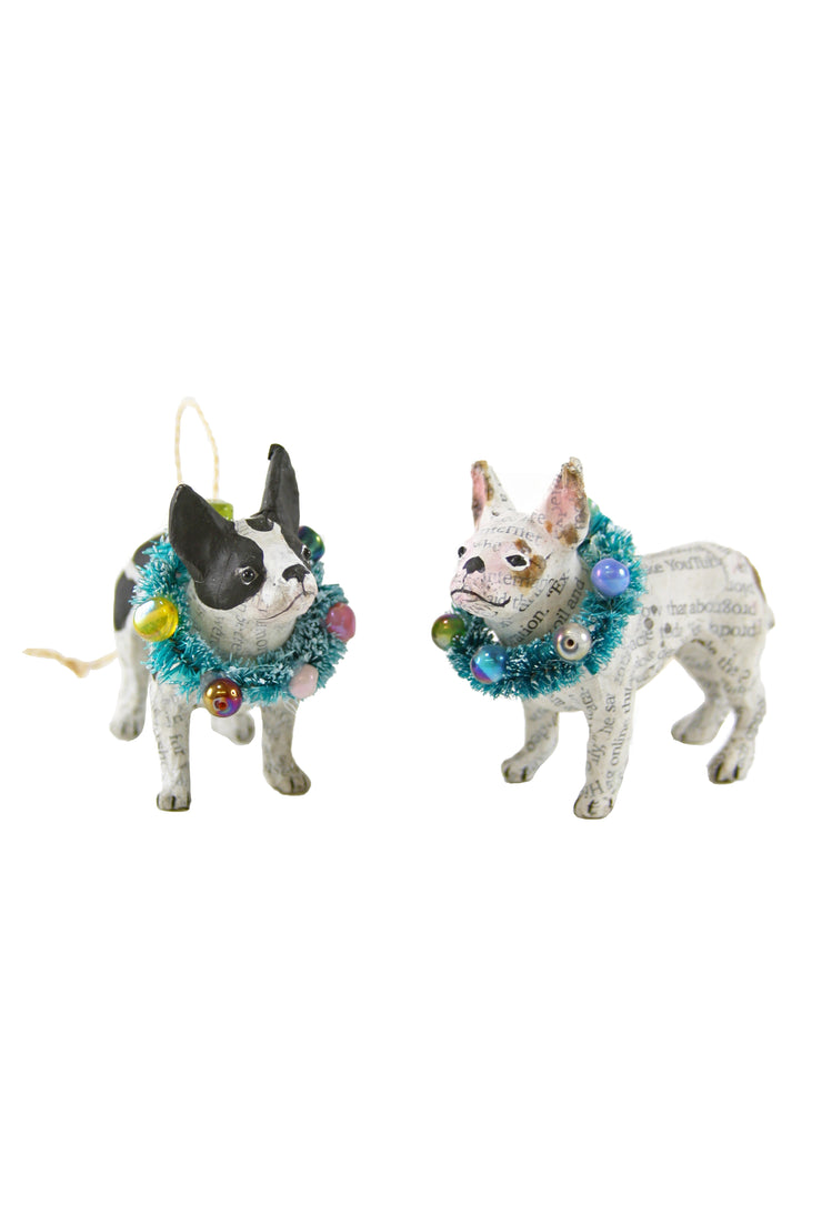 french bulldog ornaments