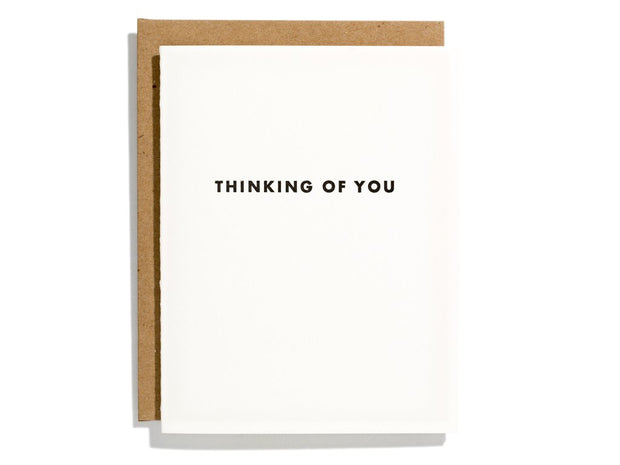 futura thinking of you card