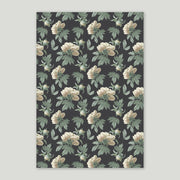 classic peony double-sided wrapping sheet