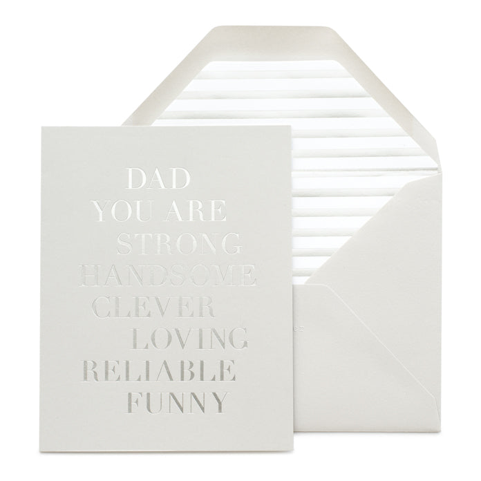dad, you are...father's day card