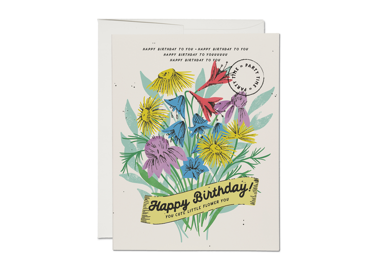 cute little flower card