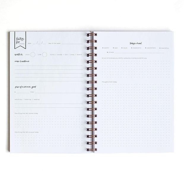 russet daily log notebook