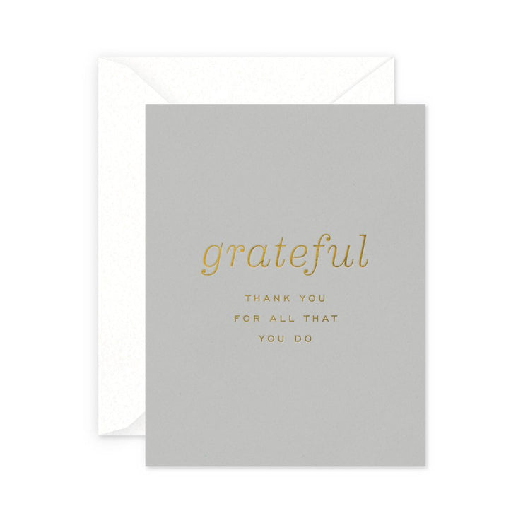 grateful thank you card