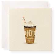 glittered gift enclosure cards - various styles