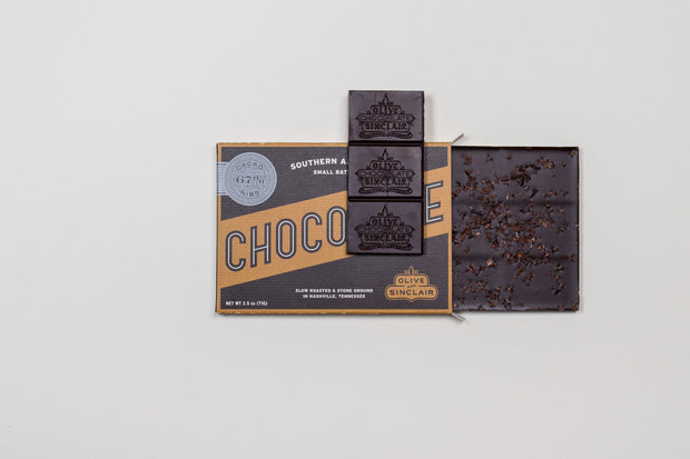 Dark Chocolate Nibs Bar