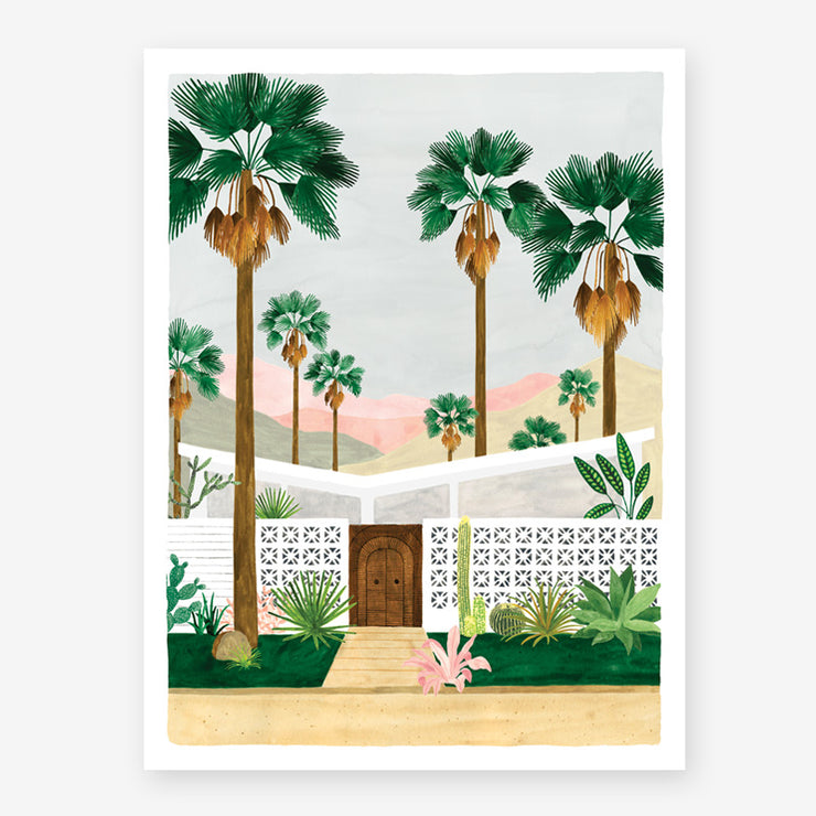 palm springs print- small & medium sizes
