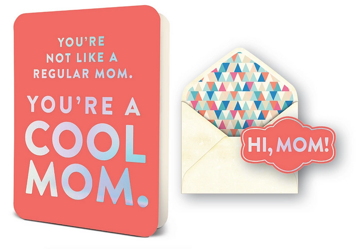 you're a cool mom card