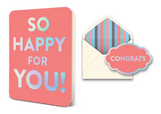 so happy for you! card