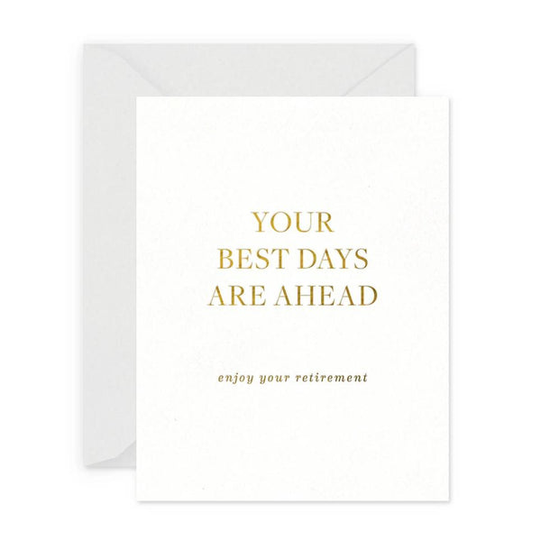 best days ahead retirement card