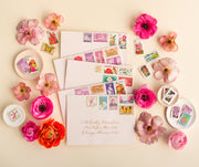 vintage postage - the botanical collection