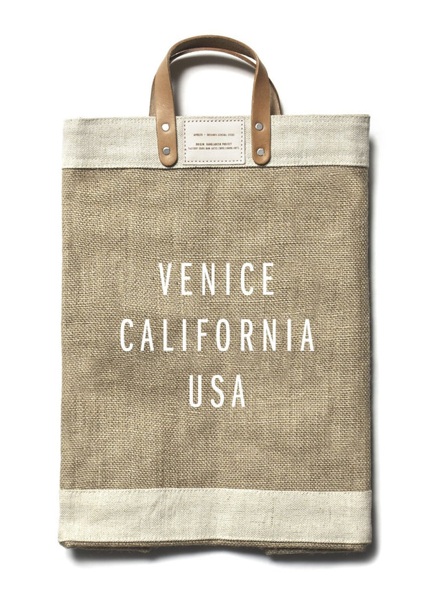 venice california usa large market bag