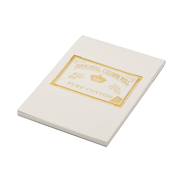original crown mill a5 pure cotton pad - 50 sheets
