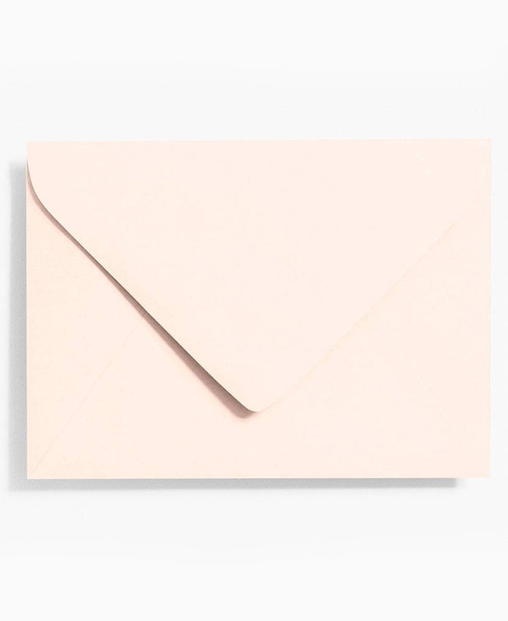 luxe blush cotton paper stationery - various sizes