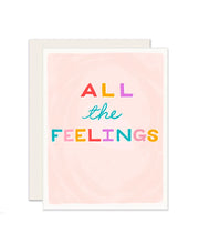 all the feelings card