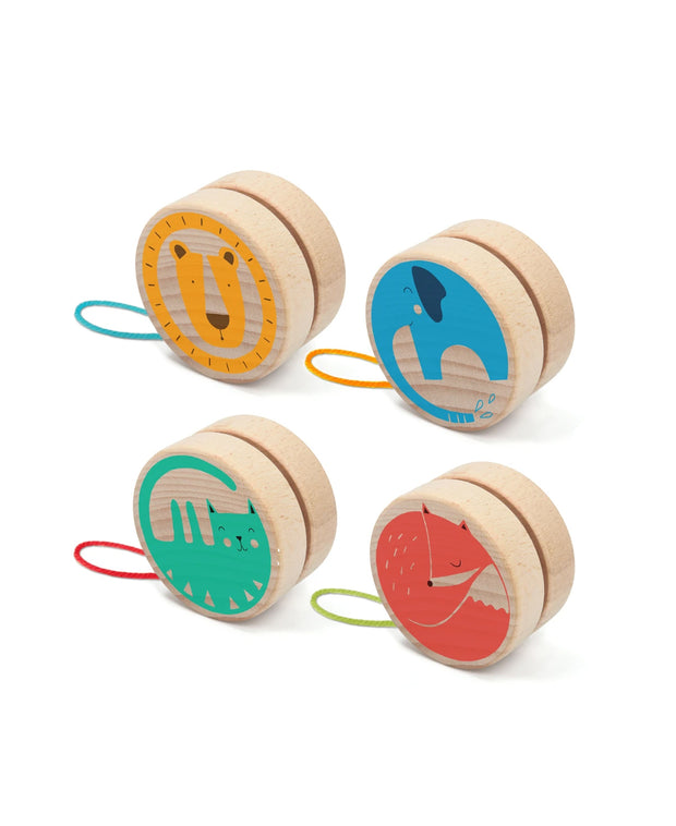 animal yo-yos in various styles