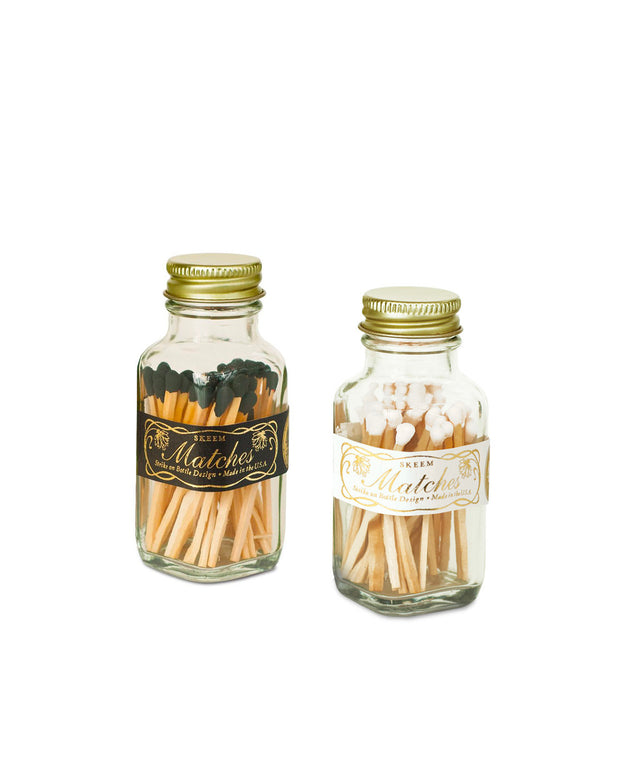 apothecary mini match bottles