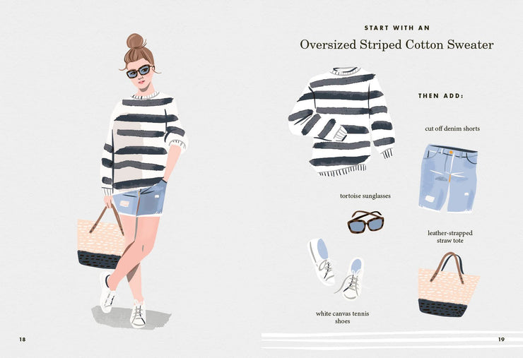 the art of stripes: over 30 ways to wear stripes book