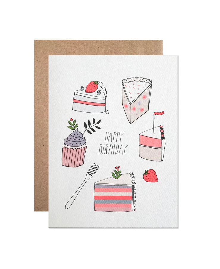 birthday desserts card