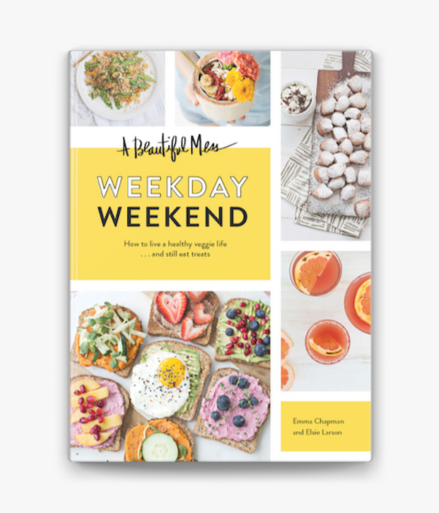 a beautiful mess weekday / weekend book