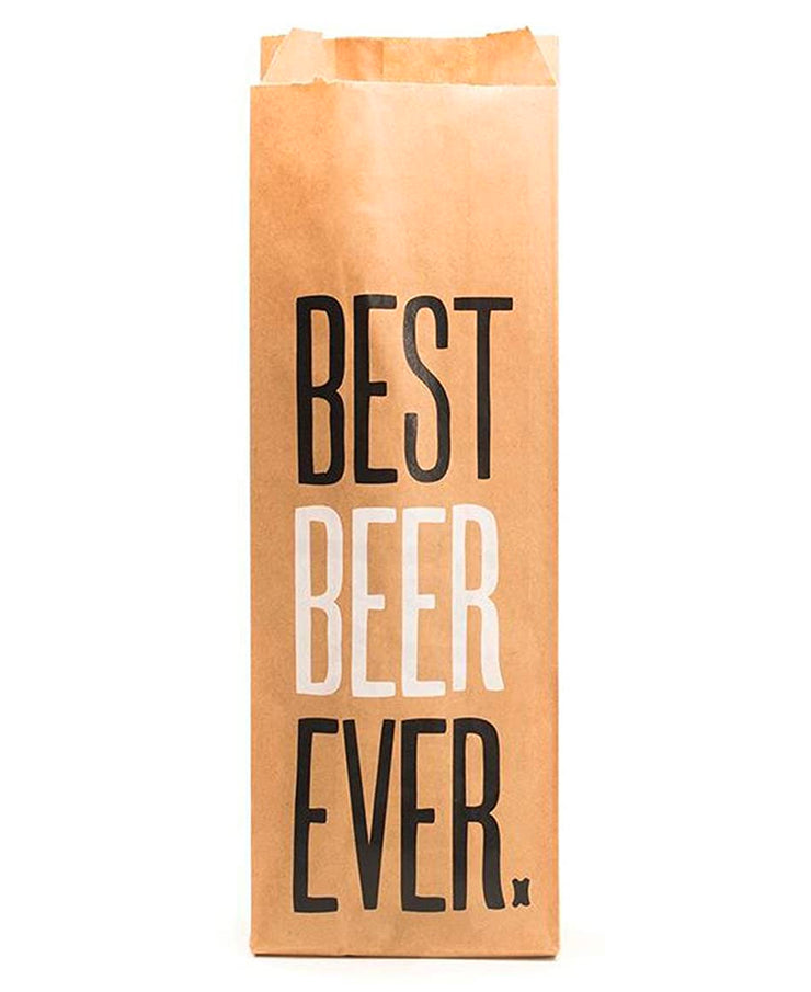 best beer ever bottle bag