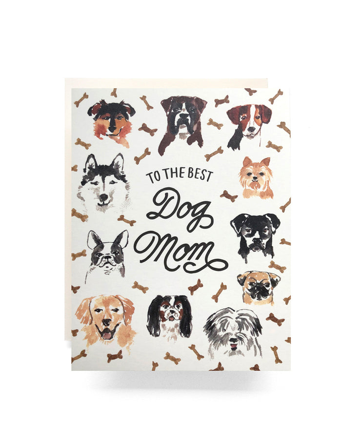 to the best dog mom card