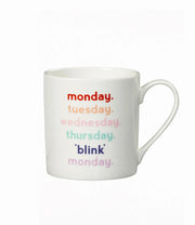 monday blink coffee mug