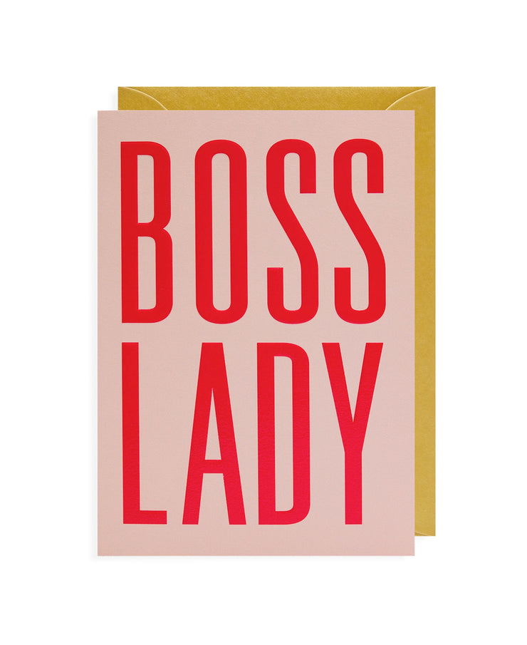 boss lady card