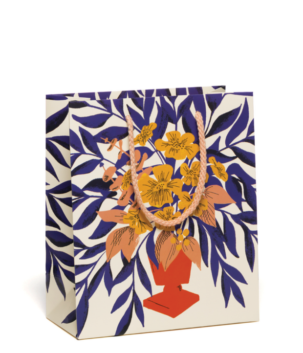 abundant bouquet medium gift bag