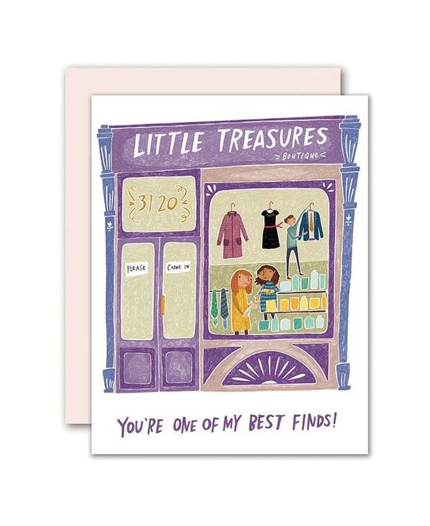 boutique firendship card