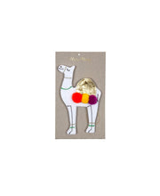rainbow & camel felt decoration