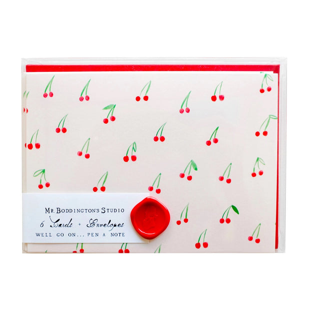 cherries on top notecards