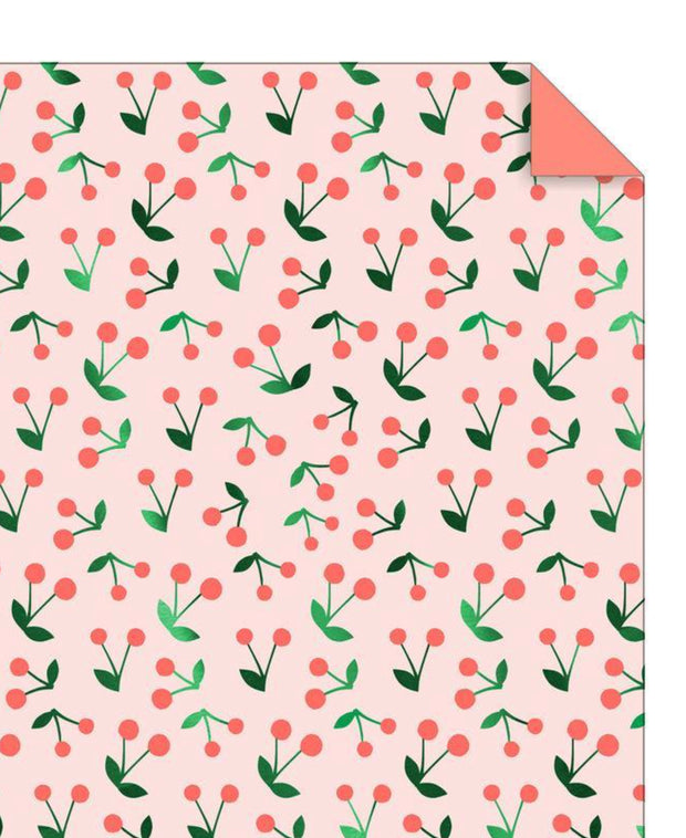 cherry sprig wrapping sheet