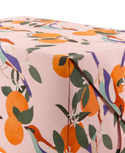 chestnut tanager wrapping sheet
