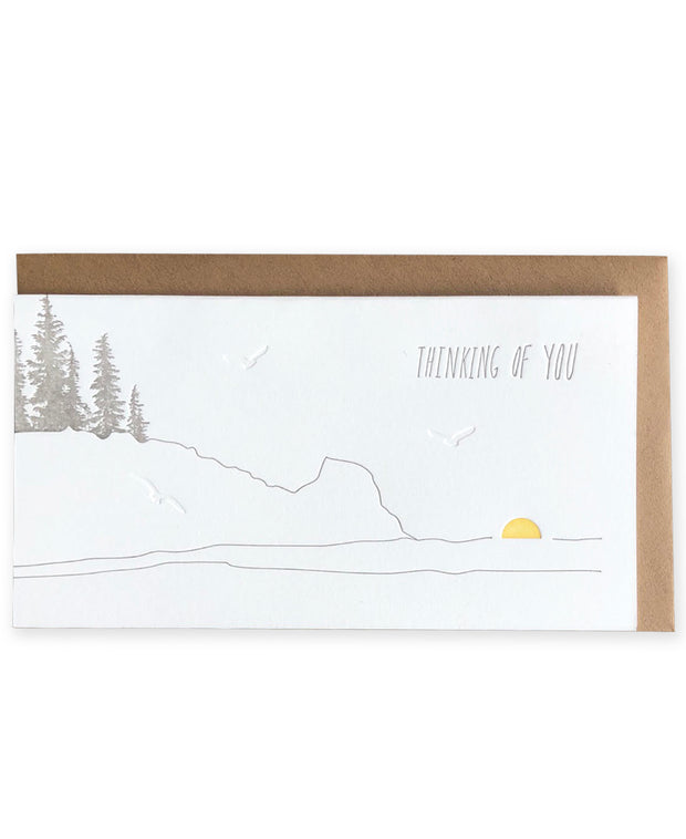 coast thinking of you card